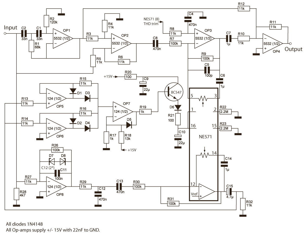 Ne571 Ic Circuit Diagram Great Installation Of Wiring Electronic Project Mfb Protections Rh Rmsacoustics Nl Part Electronics